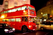 London bus, Piccadilly Circus
