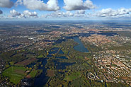 Hannover aus zwei Kilometer Höhe