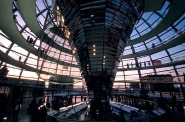 Reichstag dome, Berlin, architect Norman Foster