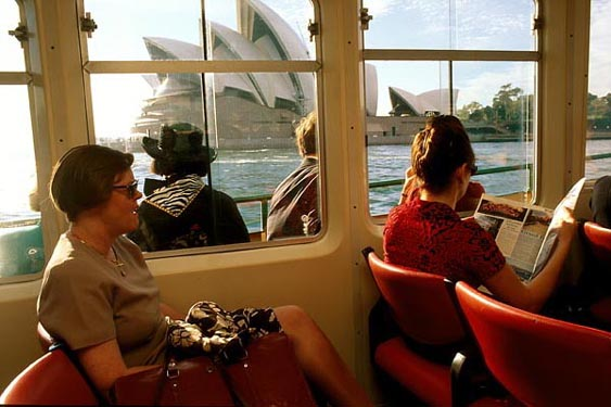 Morning Ferry, Sydney