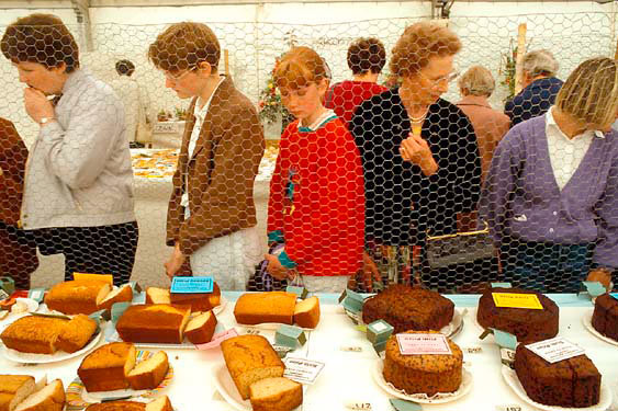 Cake competition, Turriff Agricultural Show