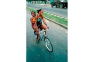 Cyclists, Santiago de Cuba