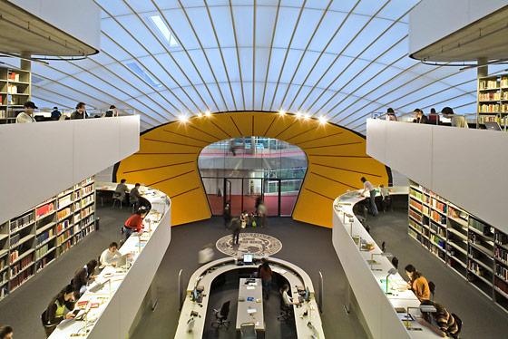 FU-Bibliothek in Dahlem