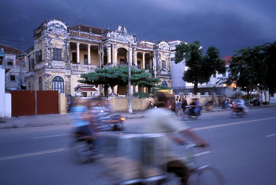 Approaching monsoon, Phnom Penh