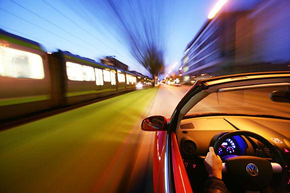 road and rail traffic