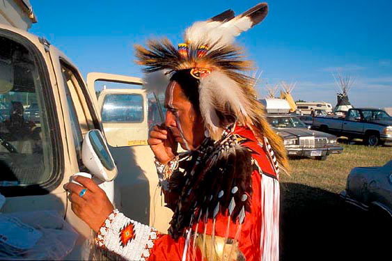 North American Indian Days, Browning