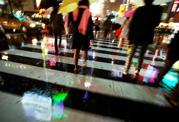 pedestrian crossing Shibuya