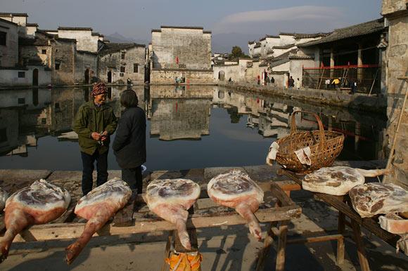 World Heritage village, Hongcun, Shaanxi