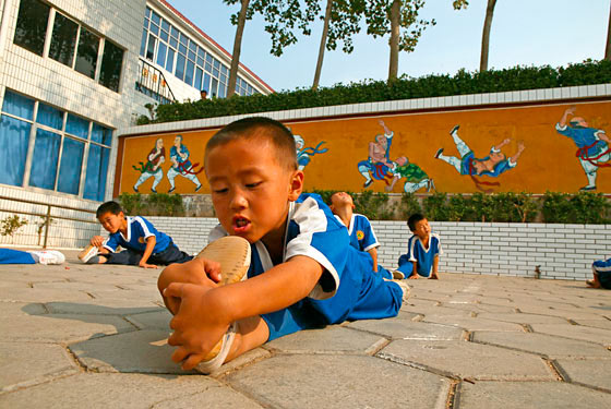 Kung fu school, Shaolin, Song Shan