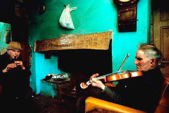 John and Paddy, music at home