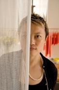 fashion designer Han Feng, Shanghai, New York