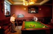 Poolroom in a Glasgow pub