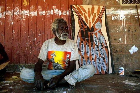 Artist, Old Man Thompson, Arnhemland