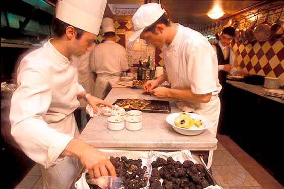 Chez Bruno, truffle restaurant