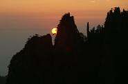 sunrise, Huang Shan, Anhui