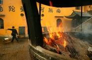 Buddhist monastery, Jiuhua Shan