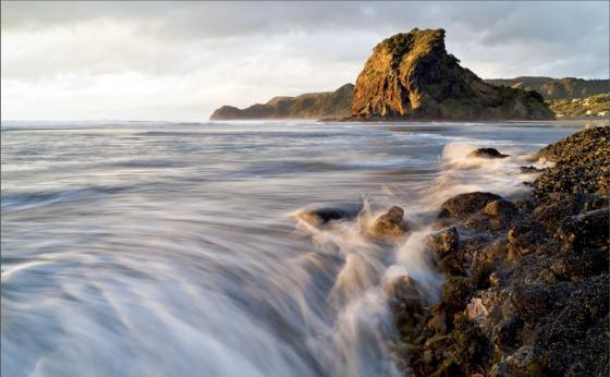 Piha Beach near Auckland