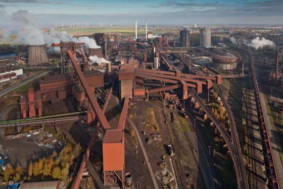 Salzgitter steel plant Salzgitter AG