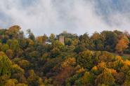 Autumn colours at Dronke tower near Daun