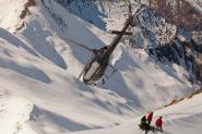 Heliskiing with heli company Over-The-Top, Queenstown
