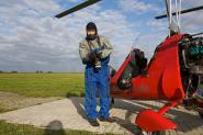 Flying with a MT03 gyrocopter