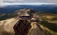 Tarawera volcano near Rotorua