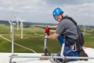Maintenance work, GE windpark Eifel