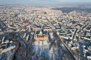 Winter in Hanover, the townhall und in the heart of the city