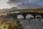 Sligachan Bridge, Black Cuillin