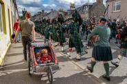 Highland Games in Dufftown
