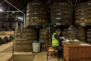 Warehouse, Glenfiddich Whisky Distillery